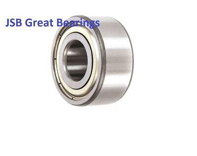5303-ZZ Premium Sealed Double Row Angular Contact Ball Bearing 17x47x22.2mm