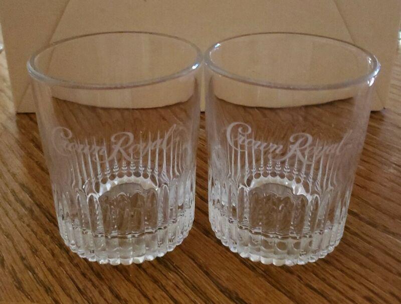 Set of 2 Crown Royal Limited Edition Established 1939 Whiskey Rocks Glasses 8oz