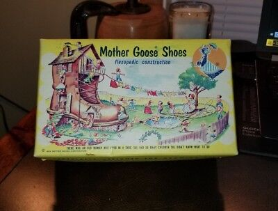 Early Mother Goose children shoes 1954 box