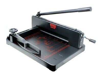 Heavy-duty Commercial Grade Industrial Stack 14.5 Railed Blade Paper Cutter