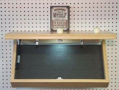 Floating Shelf hidden gun storage secret compartment concealed safe Hide It Well