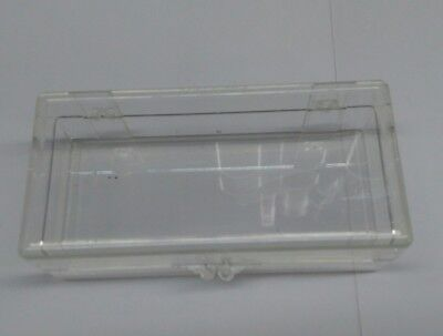TEN Small Clear Plastic Storage Box With Lid