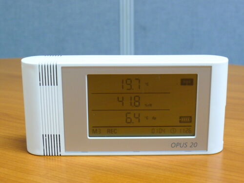Lufft OPUS 20 THI data logger for temperature, humidtiy and dewpoint