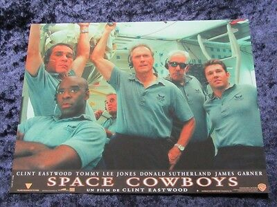 Space Cowboys lobby cards - Clint Eatwood, James Garner - French Set of 8 stills