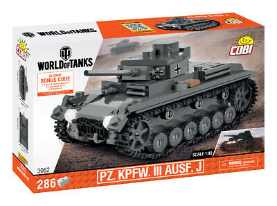 Cobi 3062 - World Of Tanks - Panzerkampfwagen III Ausf. J - Neu