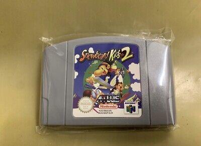 N64 / Nintendo 64 Spiel - Snowboard Kids 2 Englisch Modul Neuwertig