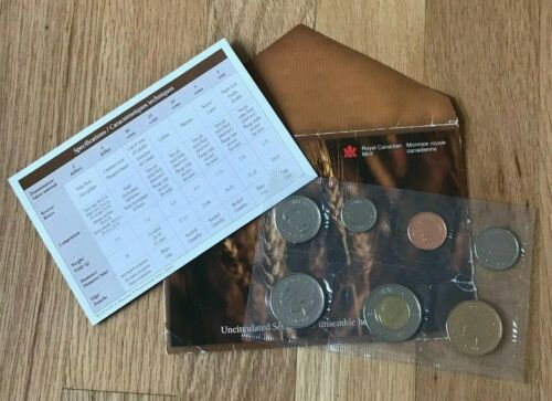 2004 Canada Uncirculated Coin Mint Set