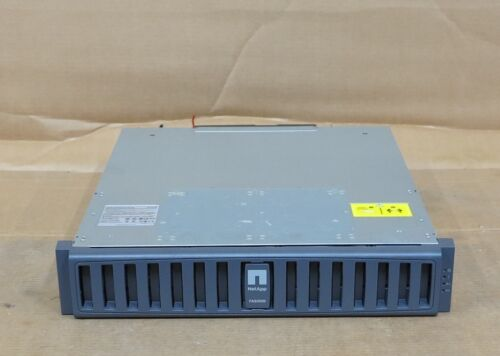 NetApp FAS2020 Filer iSCSI Storage Array Shelf 2 x controllers 111-00237