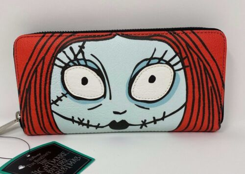 NWT Loungefly Nightmare Before Christmas Sally Face Wallet RETIRED EXCLUSIVE