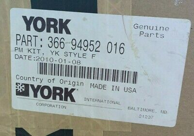 York Chiller Pm Kit Style F 366 94952 016