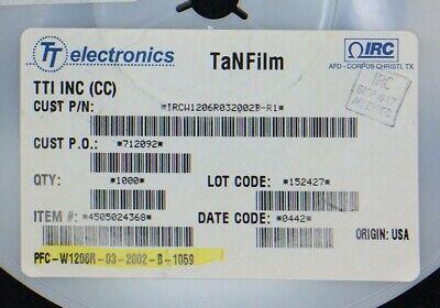 Pfc-w1206r-03-2002b Irc Resistor Thin Film 1206 20k Ohm 1 Smd 30 Pieces