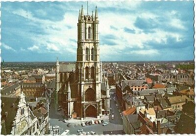 Postcard Belgium Ghent St. Bavon Cathedral Unused NrMINT