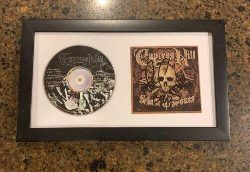 * CYPRESS HILL * signed framed CD * SKULL & BONES * SEN DOG, B REAL AND BOBO * 1