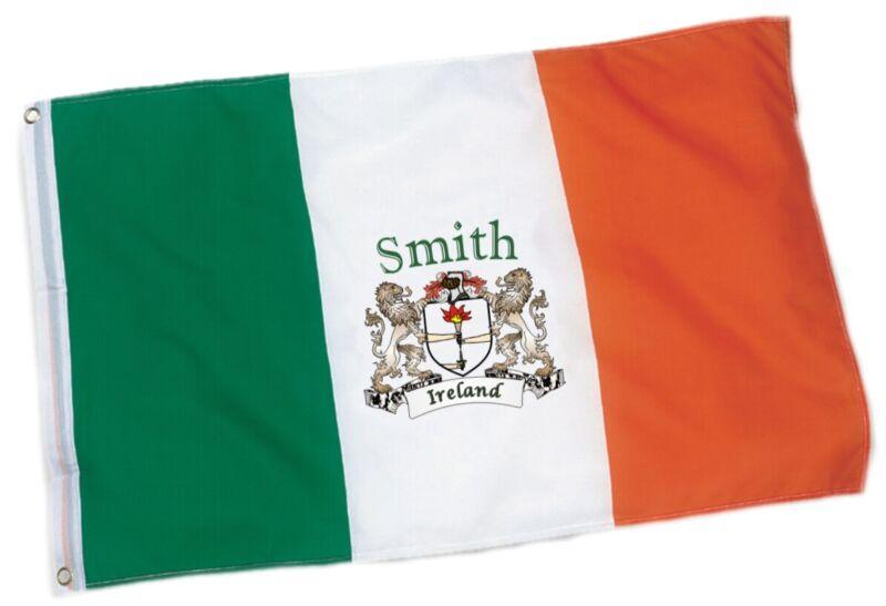 Smith Irish Coat of Arms Ireland Flag - 3