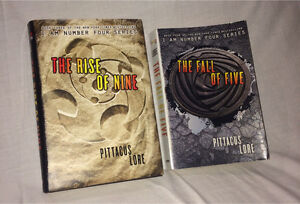 I am Number Four Series- Books 3 and 4
