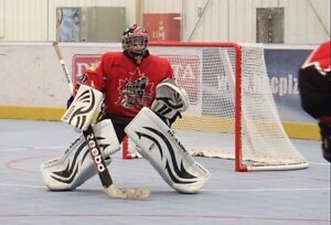 Looking for a ball hockey goalie