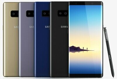 Samsung Galaxy Note 8 N950U Carrier Locked Unlocked 64GB 6GB RAM 4G LTE Phone