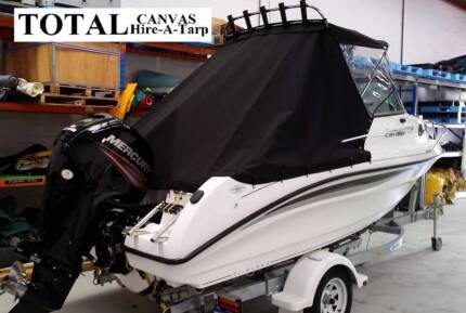 BOAT COVERS BOAT CLEARS BIMINIS u0026 TRIMMING SPECIALISTS. Negotiable. Perth & Brand New Boat top cover / Bimini Top / Boat Canopy | Boat ...