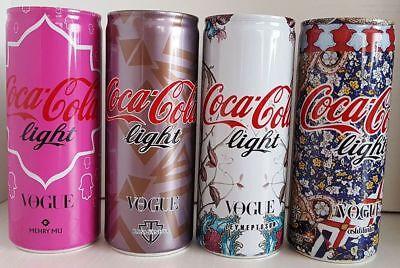 Turkey Coca Cola Vogue Top Opened Empty 250 mL Can Set Mehry Mu Raisa Vanessa