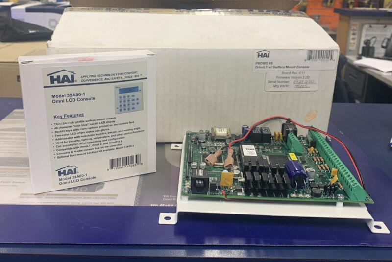 HAI Promo9S Omni LT Home Automation Panel With 33A00-1 Keypad