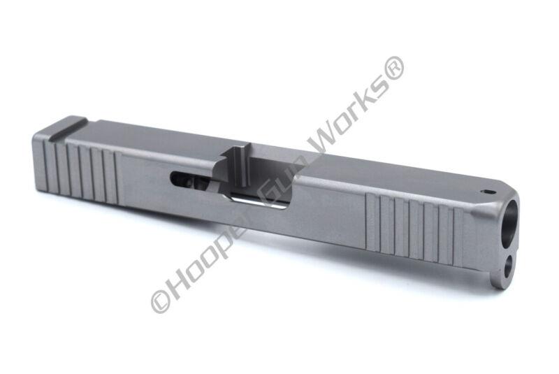 HGW Slide for Glock 19 Gen3 9mm Bull Nose Stainless Steel Front & Rear Serration