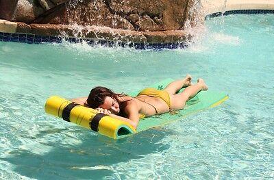 Lily Pad Float (Aqua Lily Pad Single Tadpole w/Free Storage Bag.   Pool Float Raft)