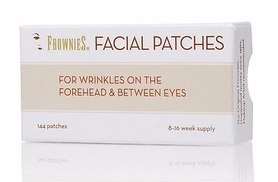 UK Stock Frownies Forehead & Eyes 144 with sample Proaura Organic Day FaceCream