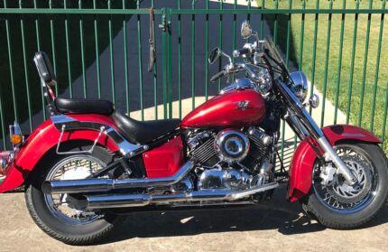Yamaha XVS650 Classic Lams Cruiser,may trade another Rd bike$5500