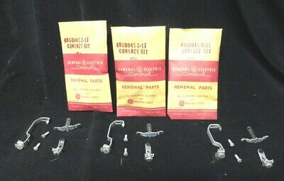 Lot Of 3 New - General Electric Contact Kit 6960045g11 - Nos - Contact Kit