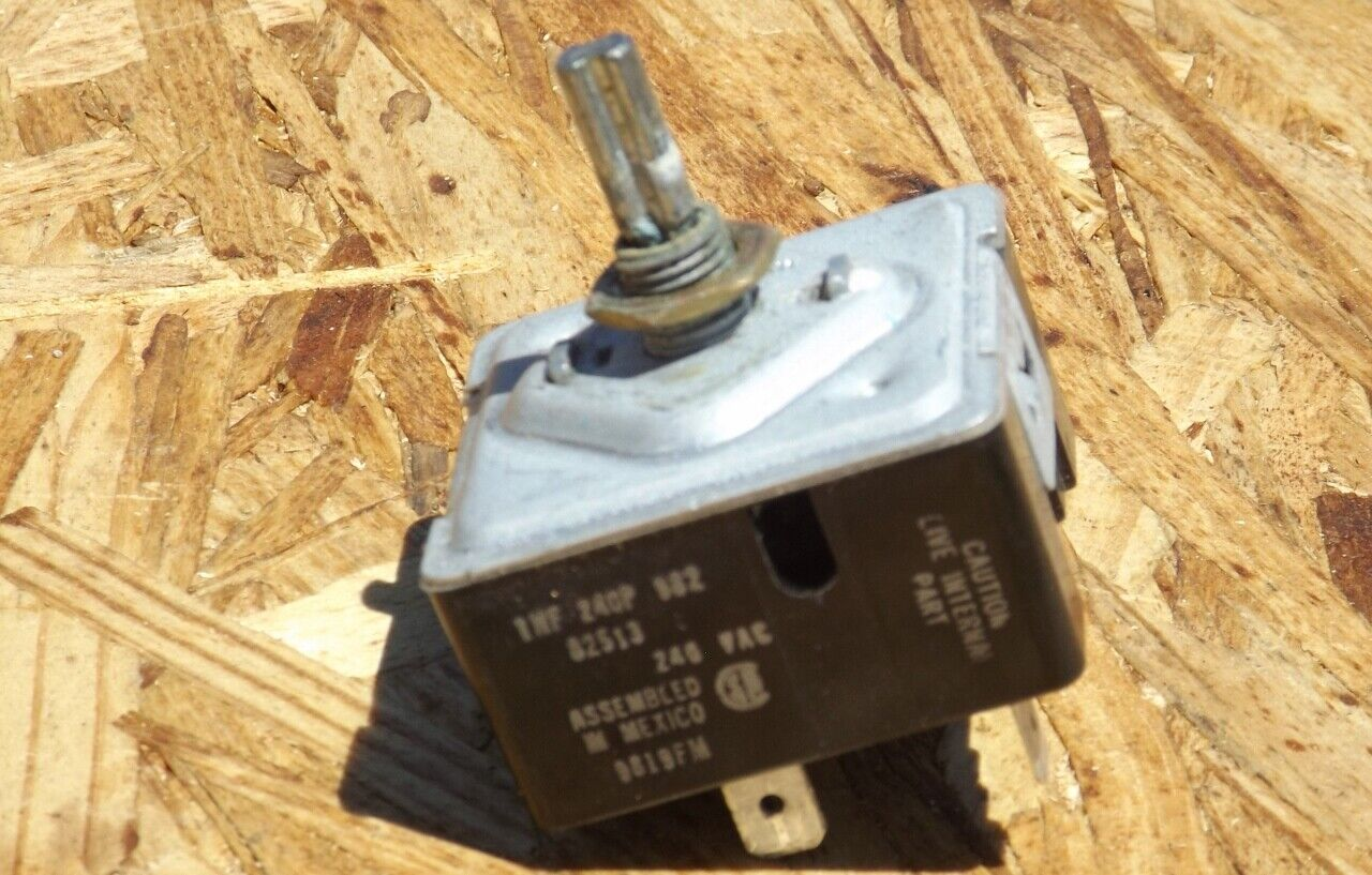 Dacor cooktop infinite switch 82521 82513 26167A 26167B