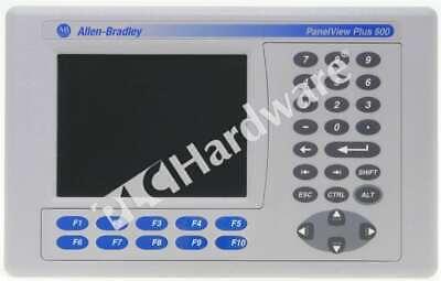 Allen Bradley 2711p-k6c20d Series C Panelview Plus 600 Color Tft Keyrs232enet