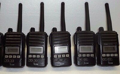 Lot 5 - Icom F50v Vhf Portable Radio Tested 100 Narrowband Fire Pager Police