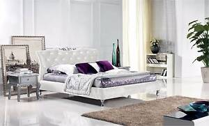 【Brand New】Real Leather Bed Queen Size Nunawading Whitehorse Area Preview