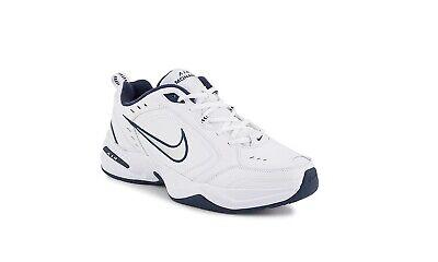 Nike Air Monarch IV Men's Cross-Training Shoes - White Blue - Size 11