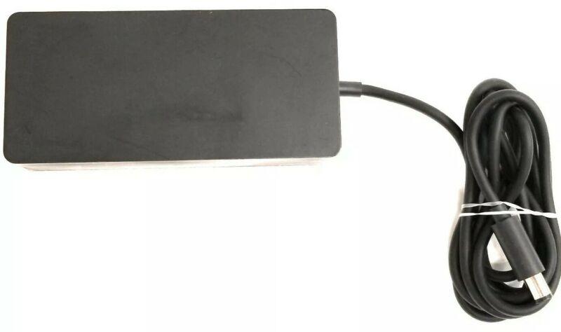Microsoft Genuine OEM 15V 6A AC Adapter for Surface Pro 4 Dock Model: 1749