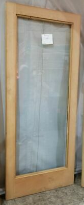 Glass Door Solid Wood - Solid Wood Door With Tempered Glass 34