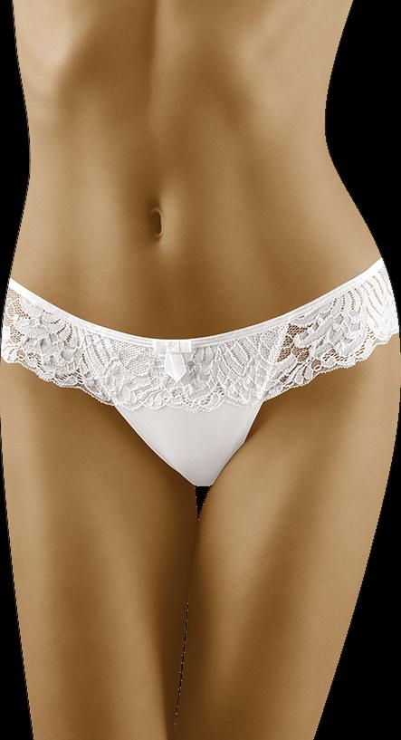 WOLBAR KARIOKA String Thong Damen Unterwäsche Tanga Mikrofaser Schwarz/Weiß Sexy