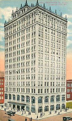 Party City Missouri (Postcard Telephone Company Building, Kansas City, Missouri - circa)