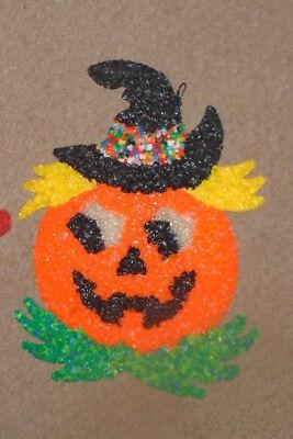 Melted Plastic Popcorn Halloween   Jack o'Lantern - Popcorn Halloween