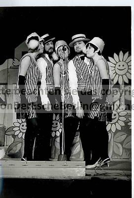 STARLETS: ROSY SINGERS - 3 OriginalFotos VINTAGE - FOTO: Ingo BARTH