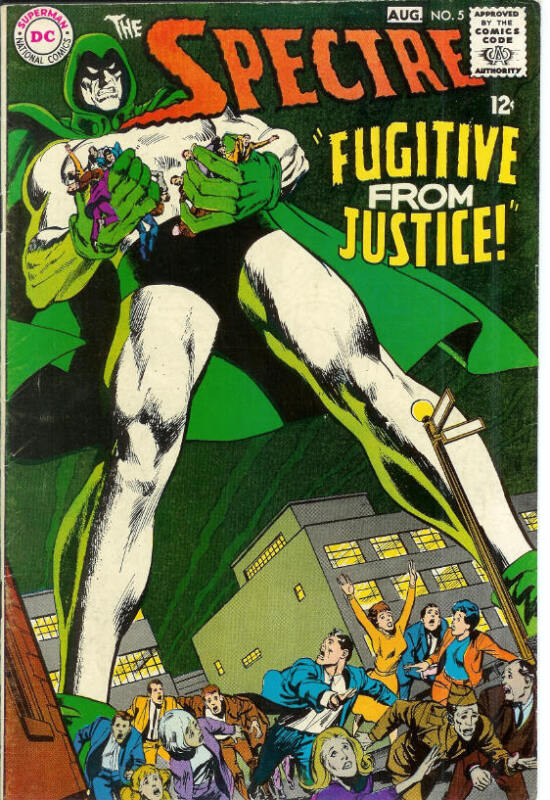 Spectre 5 Gorgeous Glossy VF1968 NEAL ADAMS COVER & ART
