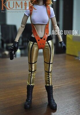 KUMIK Outfit 3 Resident Evil The Fifth Element Alice 1/6 Female Figure Set - 5th Element Outfit