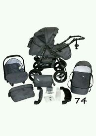 Lirdo Baby pushchair all in one