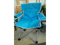 Child's Folding Canvas Chair