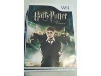 Wii games, Harry Potter, just dance etc