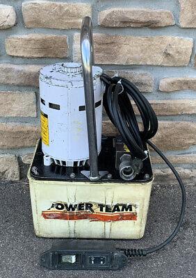 Spx-pe174 Electric Hydraulic 10000 Psi Pump Enerpac Greenlee Nice Unit