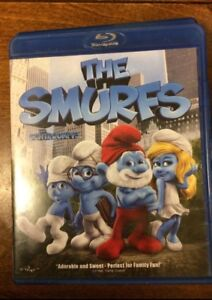 The smurfs blue ray