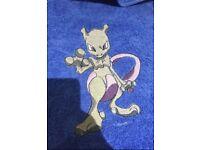 Mewtwo Pokemon Towel