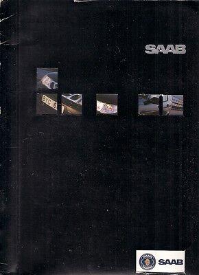 Saab 9-3 & 9-5 2000 Model Year USA Market Press Kit