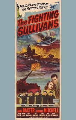 FIGHTING SULLIVANS Movie POSTER 27x40